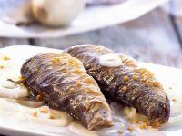 Marinated Herring with Onions recipe