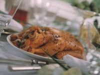Marinated Muscovy Duck Stuffed with Figs recipe
