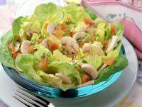 Marinated Mushroom Salad with Tomatoes recipe