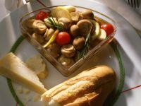 Marinated Mushrooms and Cherry Tomatoes recipe