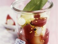 Marinated Onions in Red Wine recipe