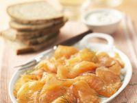 Marinated Salmon recipe