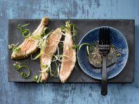 Marinated Sesame Salmon recipe