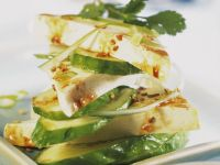 Marinated Tofu with Cucumber recipe
