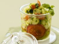 Marinated Tomatoes with Olive Oil recipe