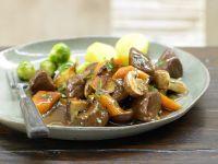 Marinated Venison Goulash recipe