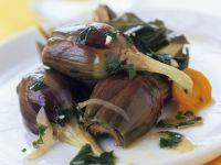 Marinated Young Artichokes recipe