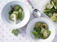 Marinated Zucchini and Ginger