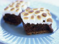Marshmallow-topped Squares recipe