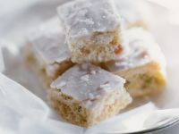 Marzipan and Coconut Squares recipe
