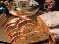 Marzipan Bread with Lemon and Pistachios recipe