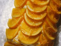 Marzipan Cake with Passion Fruit and Orange recipe