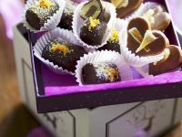 Marzipan Nougat Praline Chocolates and Pineapple Pralines recipe