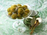 Marzipan-Pistachio Balls recipe