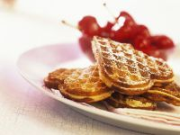 Stuffed Heart Waffles recipe