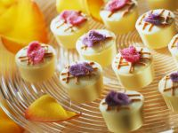 Mascarpone and Cassis Chocolates with Candied Flower Petals recipe