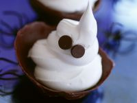 Mascarpone Ice Cream Ghosts recipe