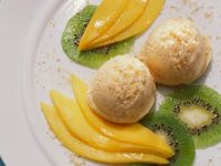 Mascarpone Mango Ice Cream recipe