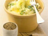 Mashed Potatoes with Scallions recipe