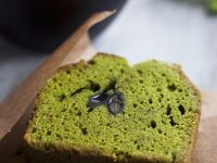 Matcha Cake with Beans recipe