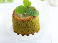 Matcha Tea Cakes with Sweet Woodruff recipe