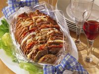 Meat and Cheese Sandwich Loaf recipe