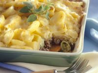 Meat and Potato Casserole recipe