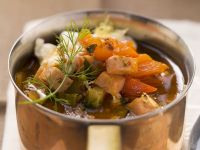Meat and Vegetable Stew (Soljanka) recipe