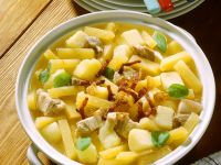 Meat and Vegetable Stew with Rutabaga recipe