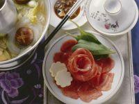 Meat Fondue (Lamb) recipe