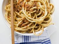 Meat Sauce Spaghetti recipe