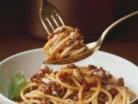 Meat Sauce with Pasta recipe