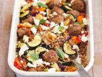 Meatball Traybake recipe