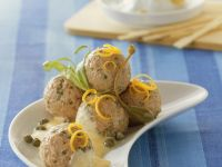 Meatballs in Lemon-Caper Sauce recipe