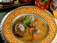 Meatballs in Vegetable Broth recipe