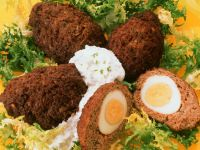Meatballs Stuffed with Eggs recipe
