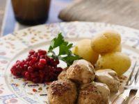 Meatballs with Cream Sauce recipe