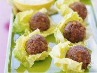Meatballs with Dip recipe