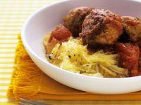Meatballs with Rosti recipe