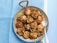 Meatballs with Spicy Olive Sauce recipe