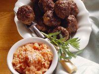 Meatballs with Tomato-Coconut Sauce recipe