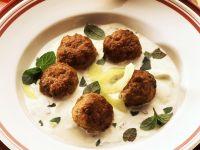 Meatballs with Tzatziki Sauce recipe