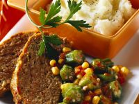 Meatloaf and Mashed Potatoes recipe