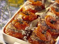 Meatloaf Baked Inside Vegetables recipe