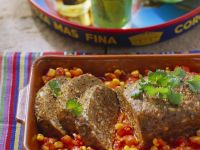 Meatloaf with Tomato Sauce recipe