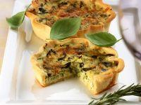 Med-style Zucchini Tarts recipe