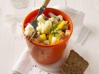 Mediterranean Cauliflower Salad with Goat Cheese recipe