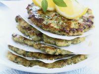 Mediterranean Chicken Patties recipe