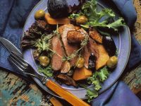 Mediterranean Duck Breast with Figs and Olives recipe