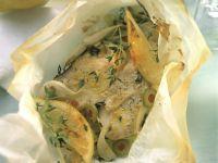 Mediterranean Fish En Papillote recipe